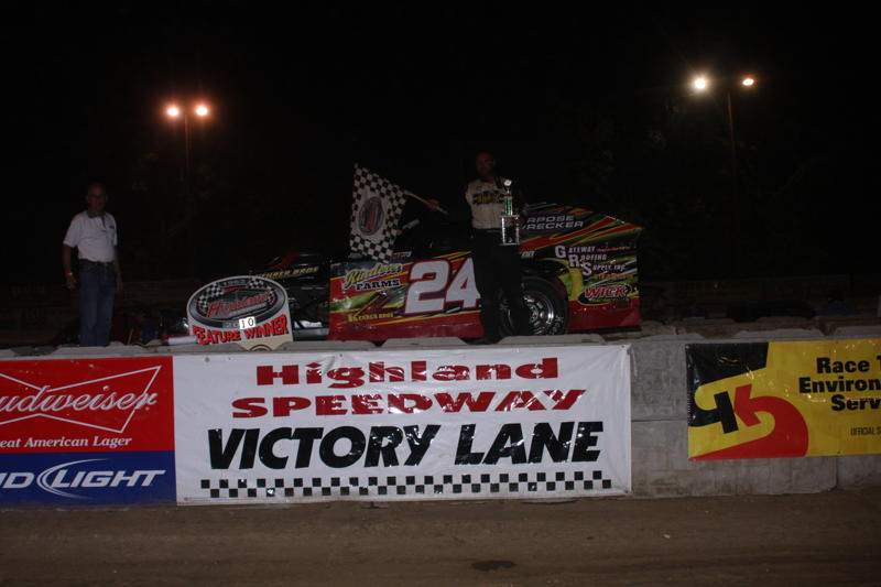 Mike Harrison Modified Winner